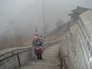 Wonderful tune on The Great Wall of China