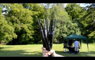 Group bagpipe class chanters