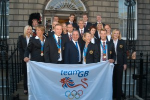 The Olympic team are home, and they are sporting medals!